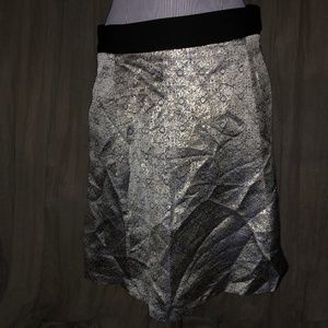 narciso rodriguez silvery blue CHRISTMAS skirt 10